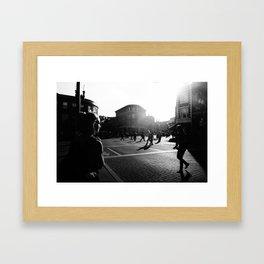 City Streets Framed Art Print
