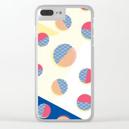 Japanese Patterns 01 Clear iPhone Case