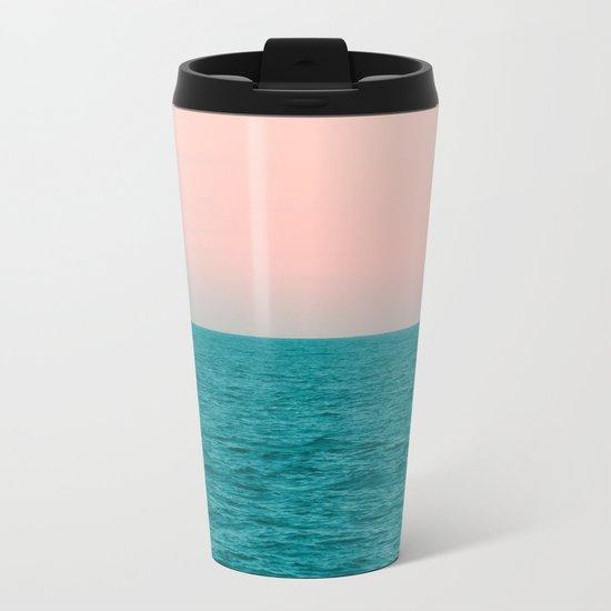 #Turquoise #Sea Metal Travel Mug