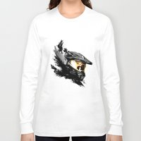master chief Long Sleeve T-shirts featuring Master Chief by tshirtsz