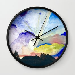 sunset1 Wall Clock