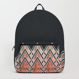 Pink Déco Mountains #society6 #buyart Backpack