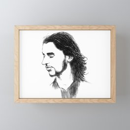 depeche dave gahan sofad Framed Mini Art Print