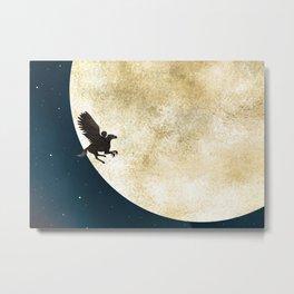 Astolfo va sulla Luna Metal Print