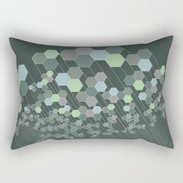 Hexagonal / cool Rectangular Pillow