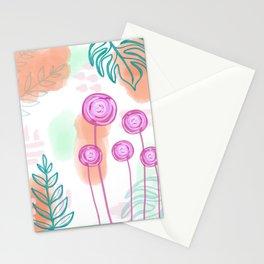 Pastel Floral Wonder Stationery Cards