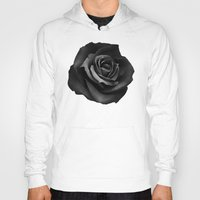 fabric Hoodies featuring Fabric Rose by Ruben Ireland