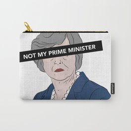 Not My Prime Minister Carry-All Pouch