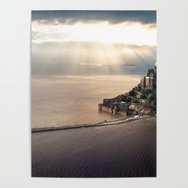 Mont Saint Michel island, Southern France Poster