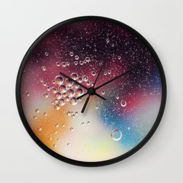 Bubble Power Wall Clock