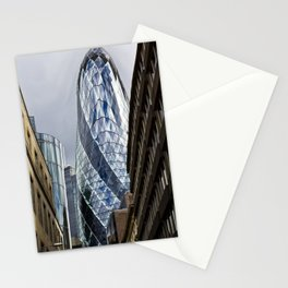 The Gherkin Condom Stationery Cards
