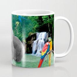 ELEPHANTS OF THE RAIN FOREST Coffee Mug