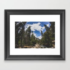 Fisheye Yosemite National Park, California Framed Art Print