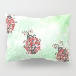 Ladybug Parade Pillow Sham