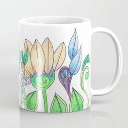 Flower Freize Coffee Mug