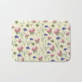Field of Wild Flowers Bath Mat