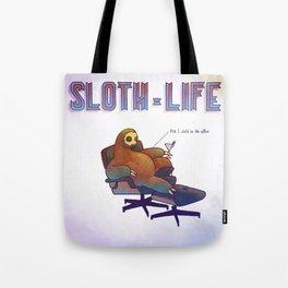 SLOTH LIFE fig. 1. Tote Bag