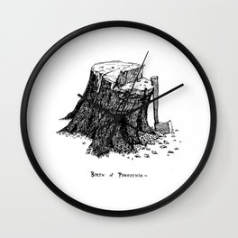 Birth of Pinocchio Wall Clock