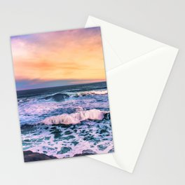 Sunset of the Bay of Biscay Stationery Cards