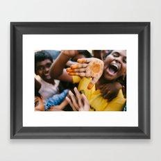 Mayhem! Framed Art Print