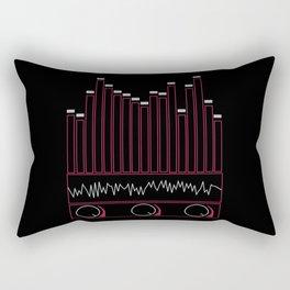 Crank The Volume Rectangular Pillow