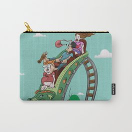 Rollercoaster Carry-All Pouch