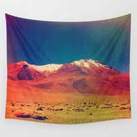 saturn Wall Tapestries featuring Saturn. by Daniel Montero
