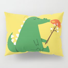 Dragon and Marshmallow Pillow Sham