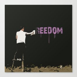 Reedom Canvas Print