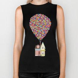 Balloons Biker Tank