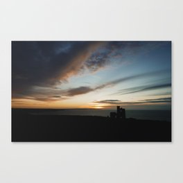 Wheal Cotes Sunset Canvas Print