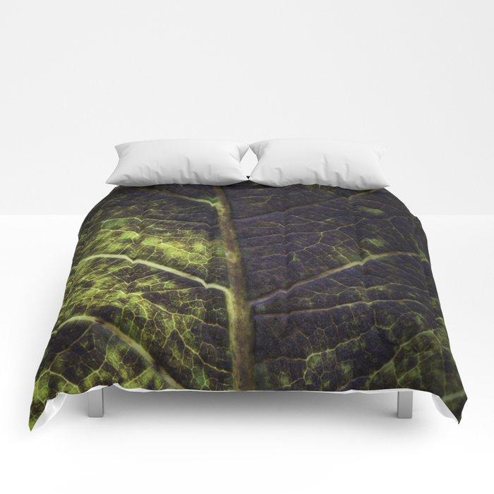 Leaf Four Comforters