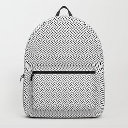 Short Lines Geometric Pattern Backpack