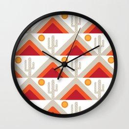 DESERT HILLS 1 Wall Clock