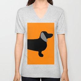 Halloweiner Dog Unisex V-Neck