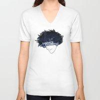 cowboy bebop V-neck T-shirts featuring Space Cowboy by Pyier Trpn
