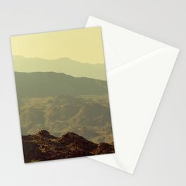 Palm Springs Mountains I Stationery Cards