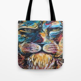 Lion face original Tote Bag