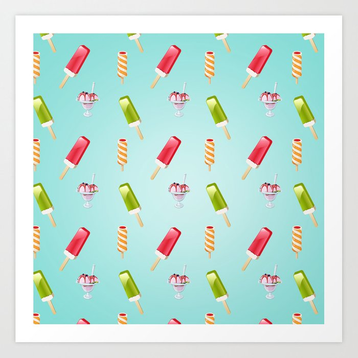 sweet summer Art Print