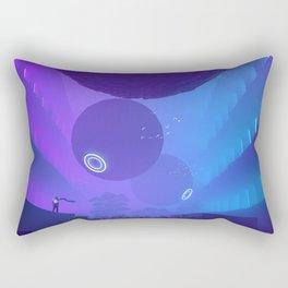 Finally Here Rectangular Pillow