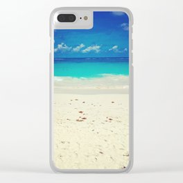 Elbow Beach Clear iPhone Case