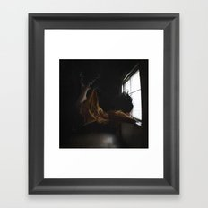 ONE LITTLE GLIMPSE Framed Art Print