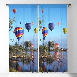 Hot air balloon scene Blackout Curtain