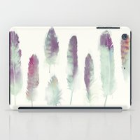 birds iPad Cases featuring Feathers // Birds of Prey by Amy Hamilton