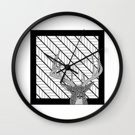 White Tail Buck... Oh Deer Wall Clock