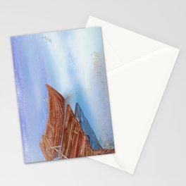 Perfect reflection of beautiful sky | Miharu Shirahata Stationery Cards