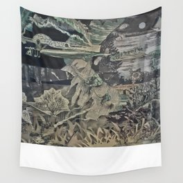 Winter Shadowbox Wall Tapestry