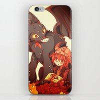 how to train your dragon iPhone & iPod Skins featuring How to Train your dragon! by SweetOwls