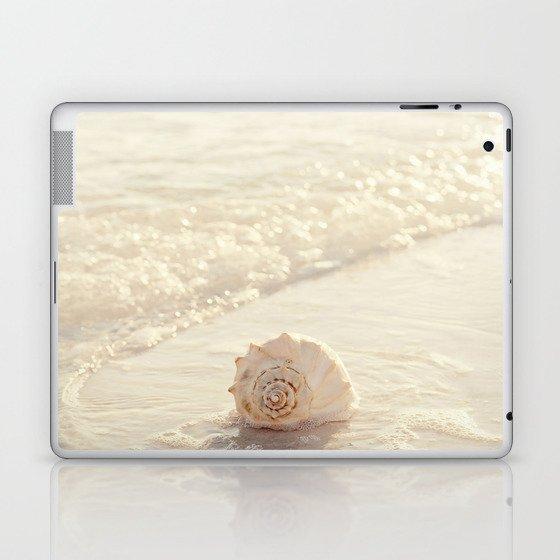Seashell by the Seashore I Laptop & iPad Skin