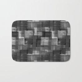 Squares Interrupted Bath Mat